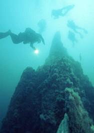 Дайвинг в Исландии к подводному вулкану