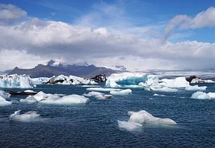 Ледниковая лагуна Исландия